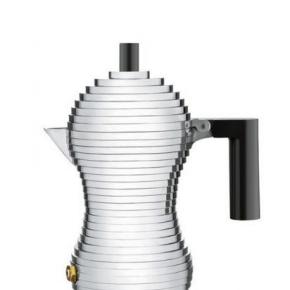Кофеварки Чайники. Кофеварка для эспрессо Pulcina черная