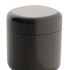 Контейнеры для ватных Дисков Шариков Палочек. Контейнер для ватных палочек Birillo темно-серый