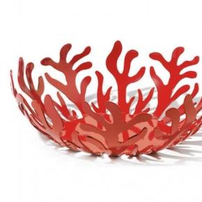 Блюда. Ваза для фруктов Mediterraneo большая красная
