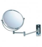 Зеркала косметические с подсветкой увеличением настенные настольные Зеркала с присосками. BEA Nicol косметическое зеркало двухстороннее с увеличением 1х1 и 1х5 настенное