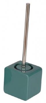 Ёршики для унитаза напольные и настенные. Joy керамический напольный ёршик для унитаза шоколадный зелёный