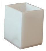 Аксессуары для ванной настольные. Blanca Alabaster Nicol Аксессуары для ванной настольные из натурального камня Стакан