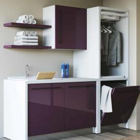 Итальянские постирочные раковины Мебель и оборудование для постирочной комнаты. Colavene Smartop мебель с раковиной постирочная комната шкаф с SMART-DRY сушилкой с вентилятором
