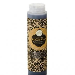 Luxury Гель для душа Мыло. NESTI DANTE Luxury BLACK Soap гель для душа с углём чёрный 300 мл