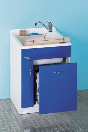 Итальянские постирочные раковины Мебель и оборудование для постирочной комнаты.  Мебель для постирочной Глубокая раковина для стирки JW COLAVENE