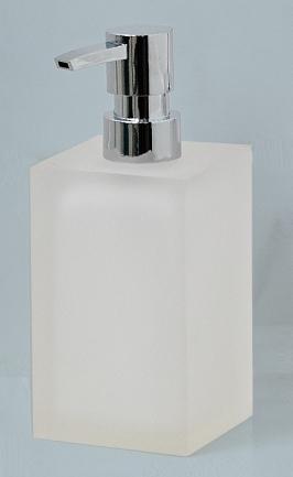 Аксессуары для ванной настольные. Cube Nicol Аксессуары для ванной белые Дозатор квадратный