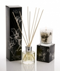 Ароматические свечи Парфюм для дома Диффузоры. Диффузор Черная роза и ваниль от Stone Glow Art. 2300
