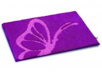. Papillon коврик для ванной розовая Бабочка