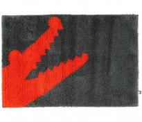 . CROC коврик для ванной Крокодил красный