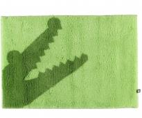 . CROC коврик для ванной Крокодил зелёный