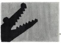 . CROC коврик для ванной Крокодил серый