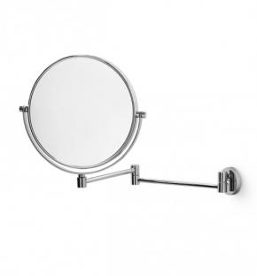 . Зеркало косметическое двухстороннее с увеличением 1х1 и 1х3 настенное Lineabeta