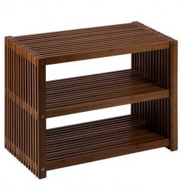 Мебель и Аксессуары для ванной из натурального дерева, Раттана и Бамбука. Florian Nicol напольная этажерка для ванной деревянная с 3-мя полками