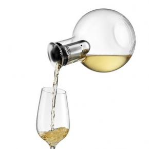 Аксессуары для вина. Декантер для вина с охлаждающей подставкой