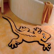 Коврики для ванной комнаты. Siluet Коврик для ванной комнаты GEKKO Nicol Геккон