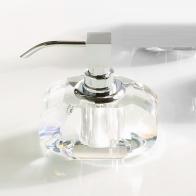 . Kristall KR Klar Decor Walther хрустальные настольные аксессуары для ванной дозатор хром