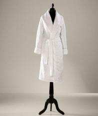 Халаты Одежда для бани и сауны Deluxe. Халат банный женский Scroll от Escada