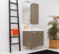 . Глубокая раковина для стирки мебель для постирочной Skip Colavene Дуб Maranello