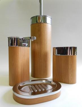 Мебель и Аксессуары для ванной из натурального дерева, Раттана и Бамбука. Toskan Nicol аксессуары для ванной настольные деревянные