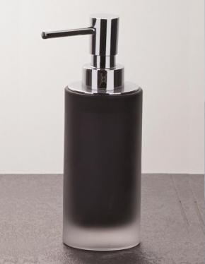 Аксессуары для ванной настольные. Baltic Nicol настольные Аксессуары для ванной стеклянные чёрные Дозатор