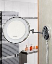 Зеркала косметические с подсветкой увеличением настенные настольные Зеркала с присосками. Jenny Nicol косметическое зеркало с подсветкой Настенное с увеличением 1х5