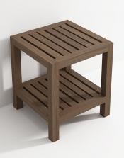 Банкетки для ванной Пуфы Интерьерные Табуреты для ванной и душа Откидные сиденья. Табурет для ванной из Тика деревянный АМЕ