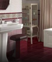 Банкетки для ванной Пуфы Интерьерные Табуреты для ванной и душа Откидные сиденья. Petracer пуф с корзиной для белья