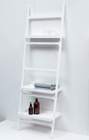 Этажерки для ванной. Этажерка полка для полотенец приставная