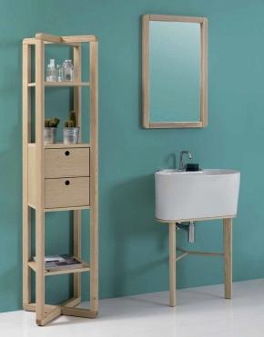 .  Постирочная раковина керамическая Белая Tino Colavene мебель итальянская