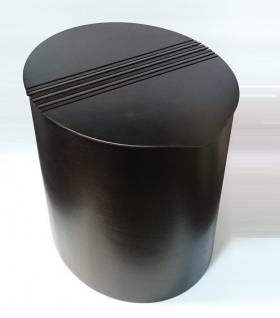 Корзины для белья. Корзина для белья Buk Oval овальная деревянная Wenge