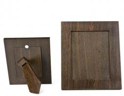 Мебель и Аксессуары для ванной из натурального дерева, Раттана и Бамбука. Wood Collection Frame рамка для фотографий деревянная Дуб Smoked