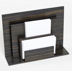 Аксессуары для кабинета Deluxe. Wood Collection деревянные аксессуары для рабочего стола держатель для бумаг вертикальный Эбеновое дерево