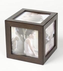 Мебель и Аксессуары для ванной из натурального дерева, Раттана и Бамбука. Wood Collection рамка для фотографий деревянная Дуб Smoked