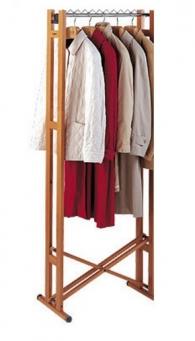 . Высокая вешалка для одежды раскладная напольная Foppapedretti Snake 60