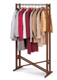 . Высокая вешалка для одежды раскладная напольная Foppapedretti Snake 90