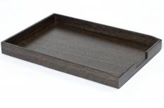 Мебель и Аксессуары для ванной из натурального дерева, Раттана и Бамбука. Wood Collection лоток деревянный для бумаг А4 Дуб Smoked