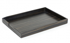 Аксессуары для кабинета Deluxe. Wood Collection лоток деревянный для бумаг А4 Эбеновое дерево Dark