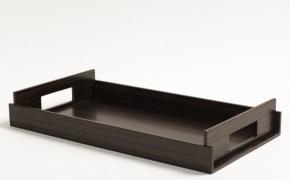 Аксессуары и Мебель для дома. Wood Collection лоток поднос дерево Эбеновое Dark
