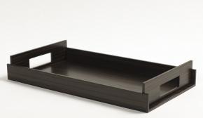Аксессуары и Мебель для дома. Wood Collection лоток поднос деревянный Дуб SMOKED