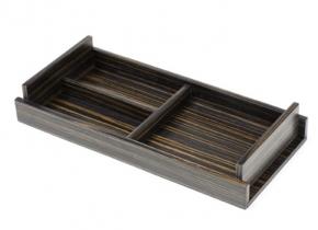 Аксессуары и Мебель для дома. Wood Collection Универсальный деревянный лоток Эбеновое дерево
