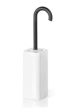 . Ёршик для унитаза керамический напольный Baston Lineabeta тёмно-серый