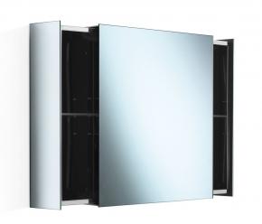 Зеркальные шкафчики Аптечки. Зеркальный шкаф с перекатной дверцей настенный PIKA Lineabeta