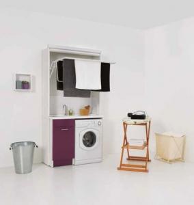 Итальянские постирочные раковины Мебель и оборудование для постирочной комнаты. Мебель для постирочной Сушилка для белья раскладная Colavene Melanzana