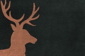 . Lord коврик для ванной Олень коричневый