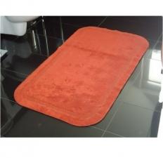 Коврики для ванной комнаты.  Хлопковый коврик для ванной комнаты LUXOR Terra Nicol двухсторонний