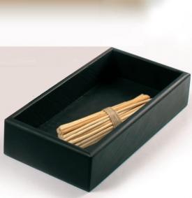 . Marmores Ardesia аксессуары для ванной чёрные настольные лоток из натурального камня