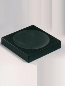 . Marmores Ardesia аксессуары для ванной чёрные настольные мыльница из натурального камня