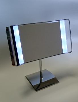 Зеркала косметические с подсветкой увеличением настенные настольные Зеркала с присосками. Maxima Nicol косметическое зеркало настольное с подсветкой LED для макияжа
