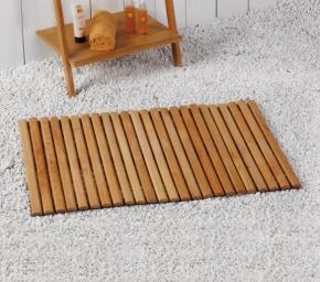 Деревянные коврики и решётки для душа и ванной комнаты