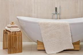 .  Хлопковый коврик для ванной с декором Noya биохлопок Bio-Baumwolle